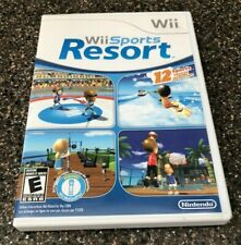 `Wii Sports Resort (Nintendo Wii) Complete in Case - Tested Working - Free Ship