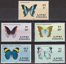 Ethiopia: 1967 Butterflies, MNH