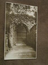 WHS Shropshire postcard - Castle gateway - Shrewsbury