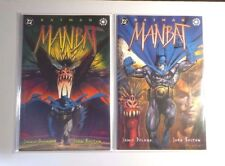 Batman: Manbat #1 and 2 DC / ELSEWORLD Comics 1995 So very MINTY! NM/MT 9.8
