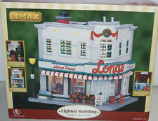Lemax LONGS CORNER STORE Village Collection Lighted Building 2006 Christmas NEW