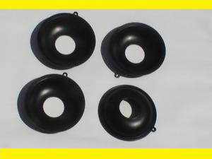 ! 4 Gasschieber Membranen für Vergaser Honda 3367+k diaphragm
