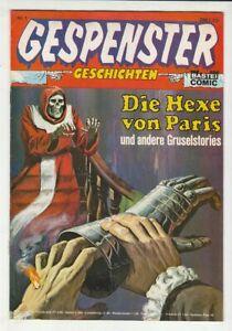 Gespenster Geschichten Nr. 1 Original 1974 Bastei Verlag im Zustand 1 !!!