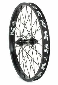 "RANT PARTY ON V2 BMX BIKE 20"" FRONT WHEEL SUBROSA KINK CULT GT HARO BLACK NEW"