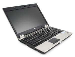 HP EliteBook 8440p laptop Intel i5 CPU 4GB RAM 250GB HDD Win 10 Pro 64bit Finger