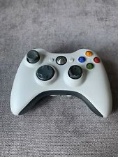 GENUINE OFFICIAL XBOX 360 WHITE CONTROLLER WIRELESS - No Battery Pack