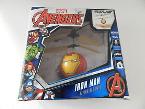 WorldTech 33196 Marvel Iron Man Flying UFO Ball New