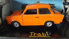 Vitesse 1/18 Scale diecast - 18004 Trabi  Trabant 601 1989 Orange Boxed