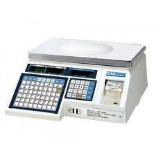 CAS LP-1000 N Price Computing Retail Scale Bakery 30 lb 15 KG for CANADA NEW