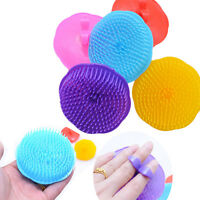 Silicone Scalp shampoo Shower Washing Hair Massage Massager Brush Comb ca