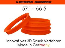 4x Zentrierringe 66,5 x 57,1 Mercedes Benz Audi VW SEAT deutscher Versand