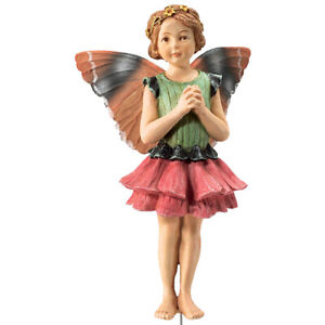 Flower Fairy Zinnie Deko Figur Elfe Fee Blumenkind NEU