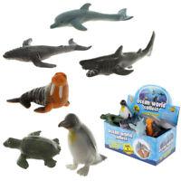 Sealife Squeezy Stretchy Animal Ocean World Autistic Toy Fish Tortoise Penguin