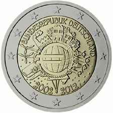 Pièces euro d'Allemagne Année 2012 10 Euro