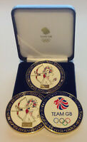OFFICIALLY LICENSED TEAM GB TOKYO OLYMPIC MASCOT ARCHERY LIMITED EDITION COIN