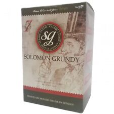Solomon Grundy Wine Refill Kit 7 Day Home Brew Making MEDIUM DRY WHITE 30 BOTTLE