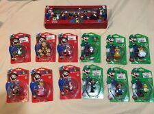 Mario and Luigi Figures LOT Series 1 2 &3 Goldie Nintendo Rare 2009 COMPLETE SET