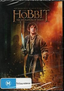 HOBBIT: THE DESOLATION OF SMAUG. Brand New/Sealed. R4 DVD