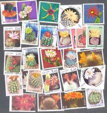 Cactus - 25 todos los diferentes Colección de sellos