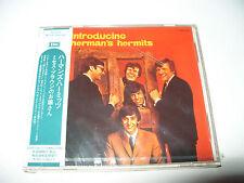 Hermans Hermits Introducing Herman's Hermits cd 21 track Japan  Crack case New