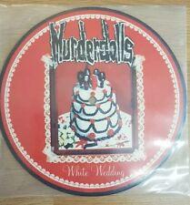 """Murderdolls White Wedding Europe 7"""" 2003 Picture Disc vinyl new wednesday 13 fdq"""