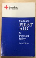 American Red Cross Standard First Aid & Personal Safety Second Edition (1981, Pa