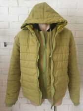 SAMPSON & TAYLOR Olive Double Hooded Jacket Size Small