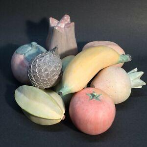 Artificial Faux Fruit - Lot of 9