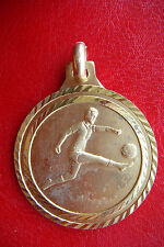 Rare Old Italy Football Soccer Mezzana Tournament 1986 Bronze Award Medal