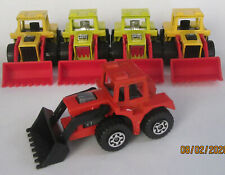 5 MINT Matchbox Superfast 1976 Tractor Shovels 29 Farming Road Works ENGLAND