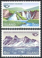 Nature Icelandic Stamps