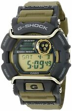 Casio Men's G-Shock GD400-9 Green Rubber Quartz Sport Watch