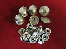 """SNAP set: 6 Real Coin High Grade """"Indian"""" Nickle, with parts"""