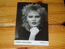 MARINA ARCANGELI - TELDEC-PHOTO (FOTO) 1983