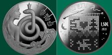 VVK Litauen 1,5 euro 2021 CU/NI Münzen Märchen die Königin der Grasschlangen