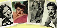Vintage Original ☆ FILM STAR ☆ Postcards from around the World - List W