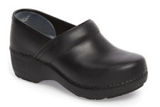 Dansko XP 2.0 Negro Impermeable Pull Up Zueco Mujer Tallas 36-42/6-12Nuevo