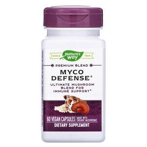 Myco Defense Premium Blend, 12 Mushrooms Blend for Immune Support, 2 x 60 Caps
