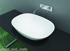 BATHROOM - ABOVE COUNTER TOP BASIN - STONE - SOLID SURFACE - MATT FINISH