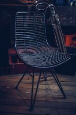 Industrial Wire Style Dining Chair/Seat/Metal/Seating/Mesh/Retro/Vintage Look
