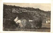 RPPC MESCALERO APACHE RESERVATION Native American Indian NM Vintage Postcard