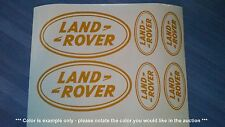 Land Rover Emblems / Stickers / Decals assorted - 6 total, multiple colors