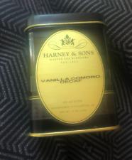 Harney & Sons Decaf Vanilla Comoro 4 ounce Tin