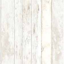 Tapete Grandeco Exposed Holz Used Look Vintage Shabby Chic Creme PE 10 03