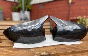 BMW M Carbon Style Mirror Caps For 1 Series
