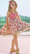 Matilda Jane Good To Go Dress Size 14 Red Butterfly Polka Dot Twirl Girls NWT