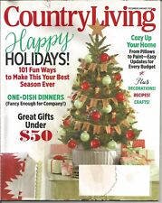 Country Living Magazine - December/January 2015 - Happy Holidays! and More!