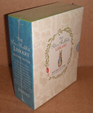 Peter Rabbit Library Collection of 10 Book Beatrix Potter Box Gift Set HB NEW