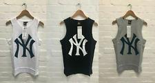 New York Yankees para hombre Majestic NY béisbol Gimnasio Chaleco Sin Mangas Camiseta-Nuevo