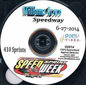 410 Sprintcars DVD 2014 Pennsylvania Speedweek 8 Nights On 8 DVD's